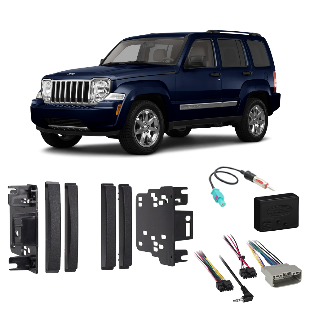 5.25 inches-Black JAPower Replacement Antenna Compatible with Jeep Liberty 2002-2007