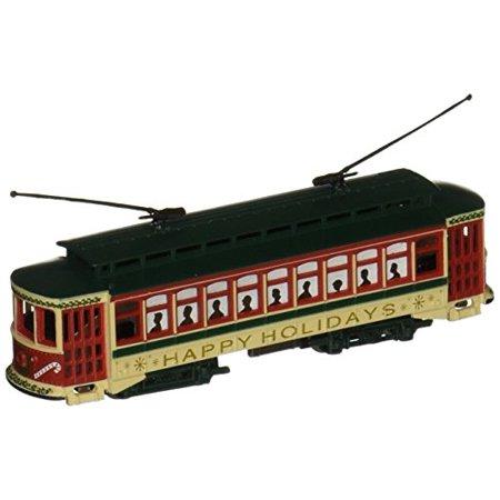 Bachmann Brill Trolley - Christmas - N Scale Bachmann Brill Trolley