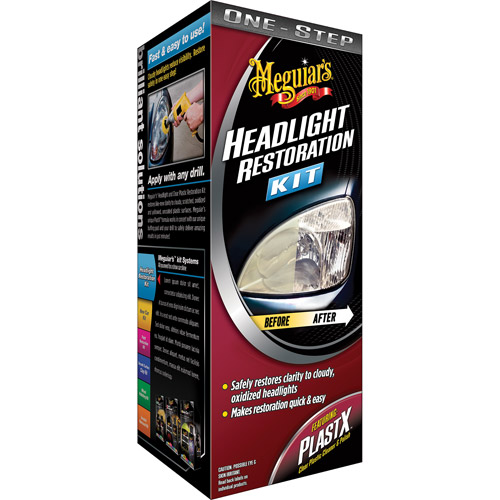 Meguiar's One-Step Headlight Restoration Kit