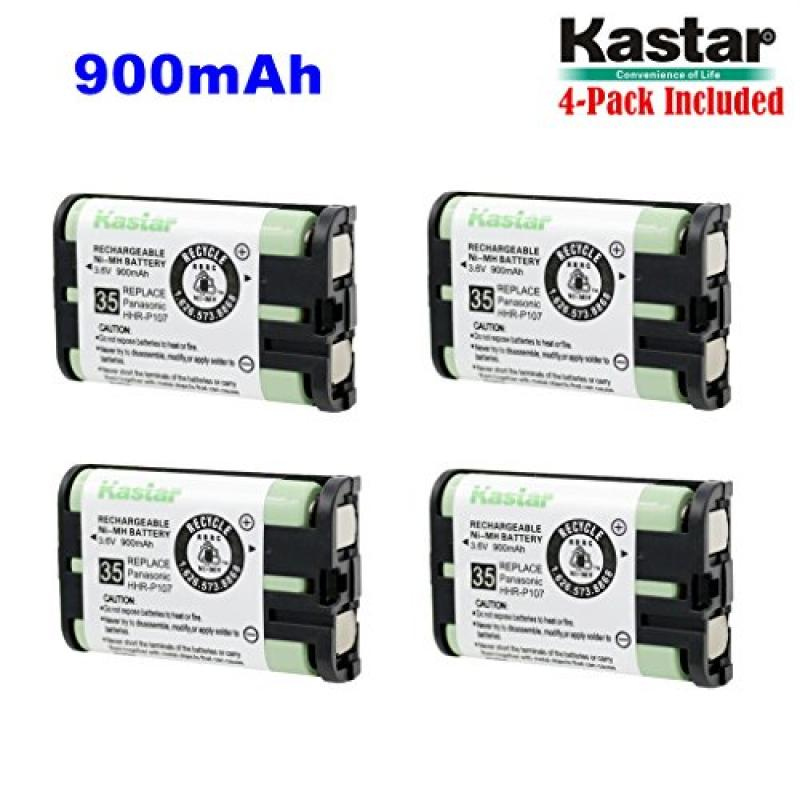 Kastar HHR-P107 Battery (4-Pack), Type 35, NI-MH Recharge...