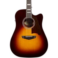 Deals on DAngelico Premier Bowery Dreadnought Acoustic-Electric Guitar
