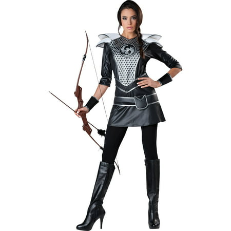 Midnight Huntress Women's Adult Halloween Costume](Hooded Huntress Child Costume)