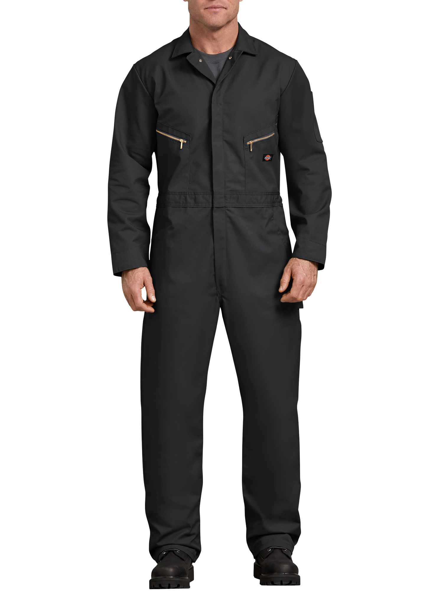 Men's Long Sleeve Deluxe Blended Twill Coverall by Dickies