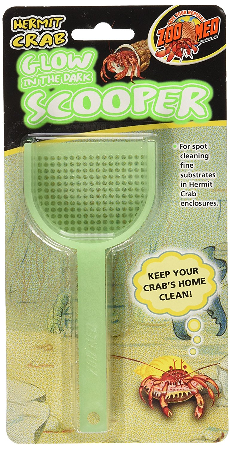 Hermit Crab Glow in the Dark Scooper By By Zoo Med by