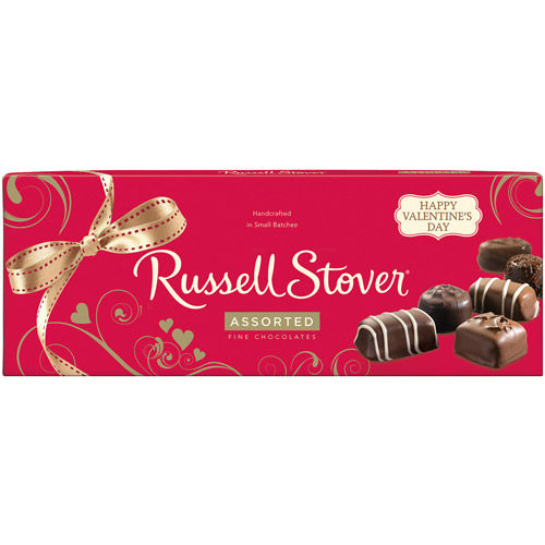 Russell Stover Assorted Valentine Chocolate Candies, 9 oz