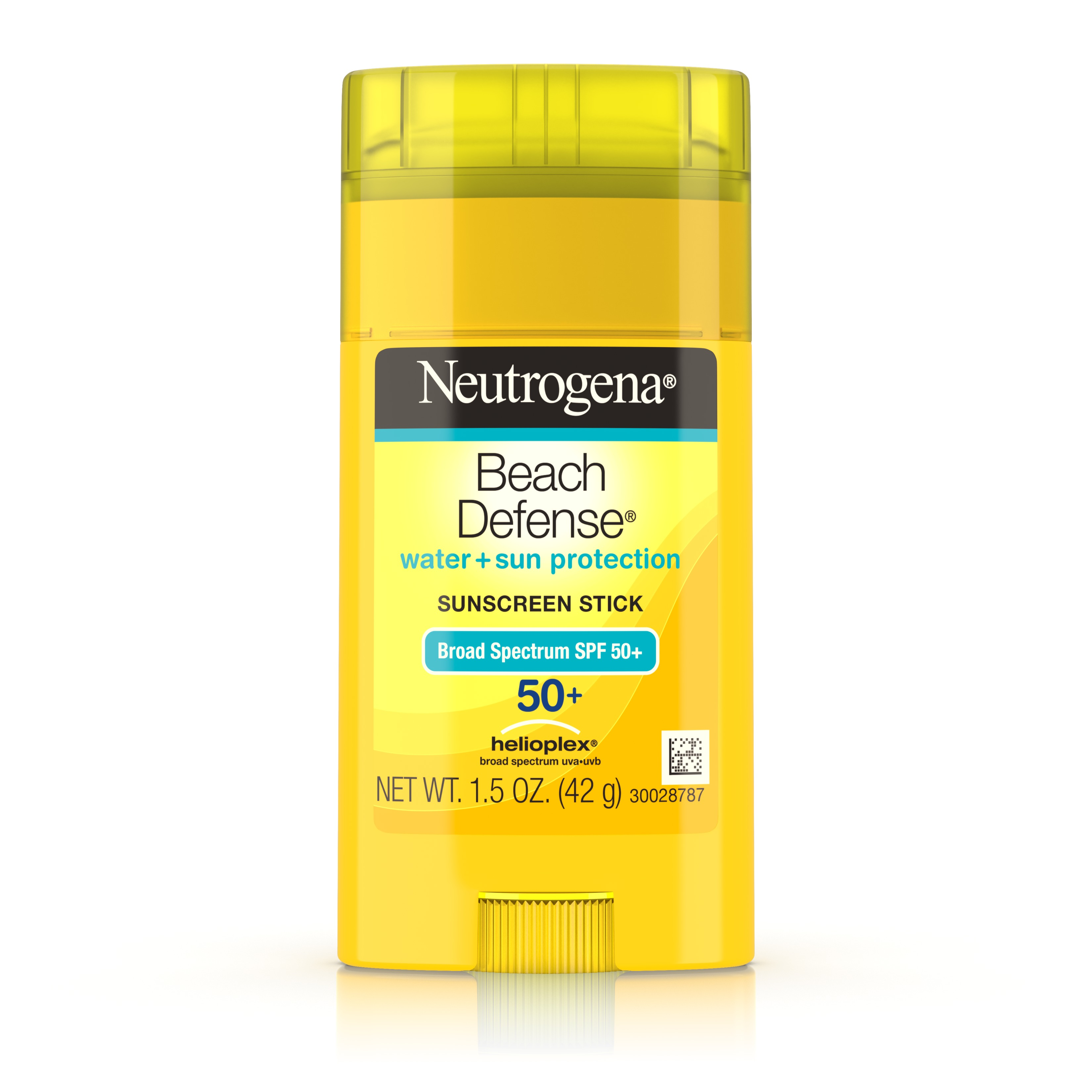 Neutrogena Beach Defense Oil-Free Sunscreen Stick SPF 50+, 1.5 oz