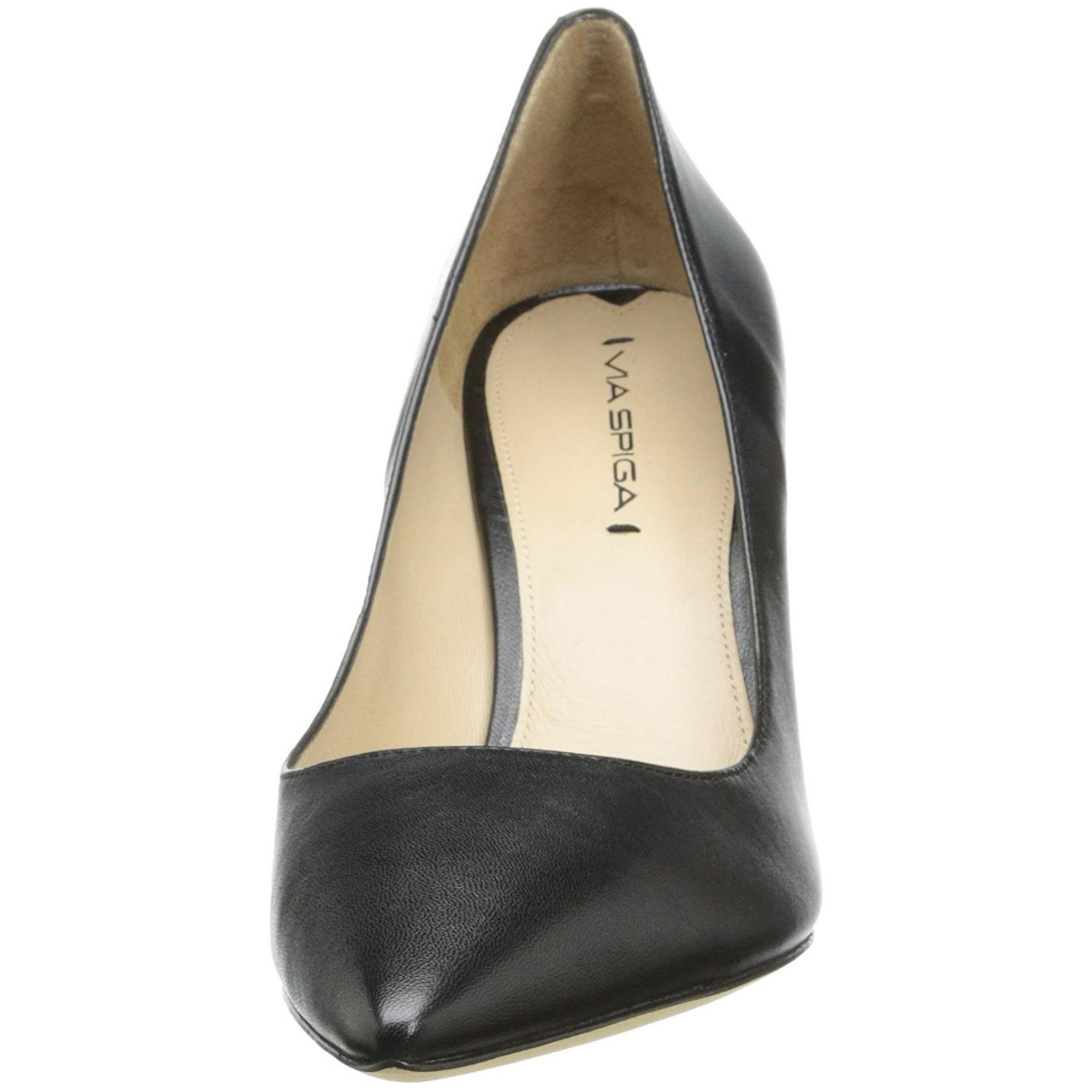 a76b0d193002 Via Spiga Womens Carola Leather Pointed Toe Classic Pumps