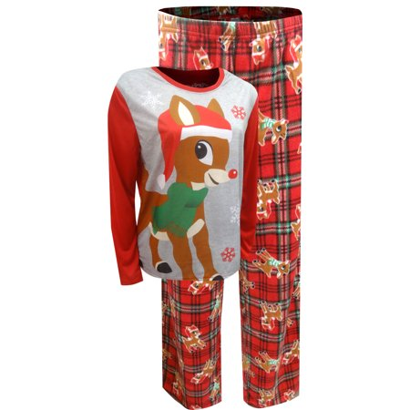 Rudolph The Red-Nosed Reindeer Ladies Christmas Pajama