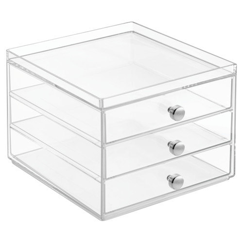 InterDesign Storage and Organization Drawers 3-Drawer Slim  sc 1 st  Walmart & InterDesign Storage and Organization Drawers 3-Drawer Slim ...