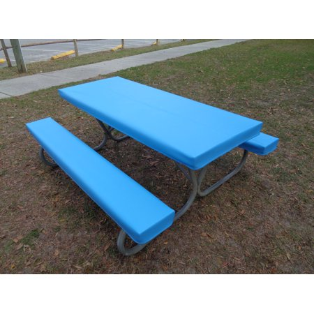 Fitted Heavy Duty Marine Upholstery Vinyl Picnic Table Cover Sets