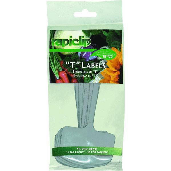 Lusterleaf Rapiclip T Label Plant Marker (Set of 12)