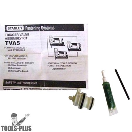 Bostitch TVA5 Trigger Valve Repair Kit for S32 and BT Nailers