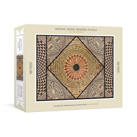 Mosaic Mind Bender 500-Piece Puzzle: An Ancient Roman Mosaic Jigsaw Puzzle & Mini-Poster: Jigsaw Puzzles for Adults (Other)