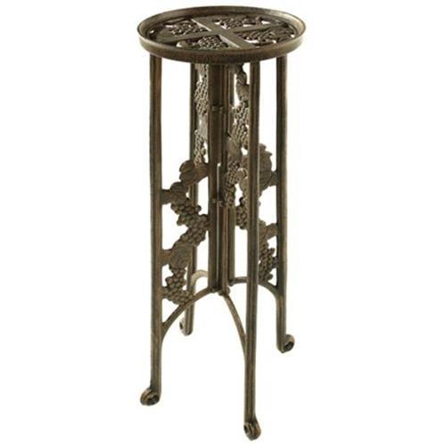 Oakland Living 5026-AB Grape Interlocking Plant Stand Antique Bronze by Oakland Living Corporation
