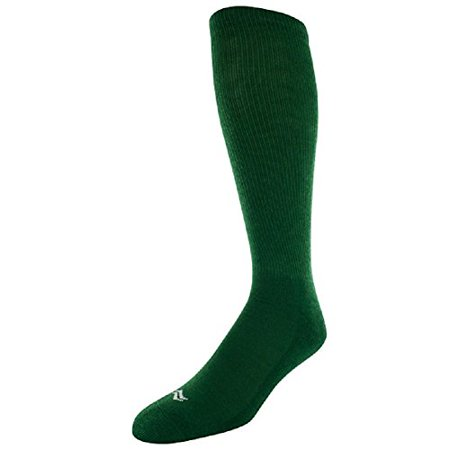Sof Sole Unisex Adult and Youth All Sport Team Performance Socks, 2-Pack, Green