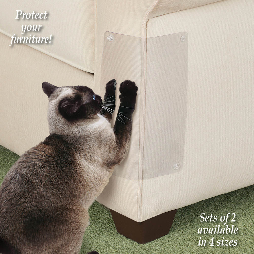 Cat Scratching Shield Furniture Protectors And Home Solutions For Pet Owners 7 L X 5 W Made In The Usa