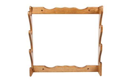 Allen Four Gun Wooden Wall Rack by Allen