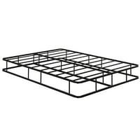 Topbuy Full Size Bed Frame Steel Slat Mattress