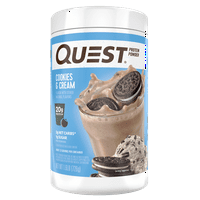 Quest Protein Powder, Cookies and Cream, 20g Protein, 1.6 lb, 25.6 oz