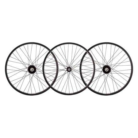 Wheel Masters Whl Set 24X1.75 507X25 Aly Bk 36 Trike 15Mm W/Bearings Dti2.0Bk Sil (Wheel Masker Set)