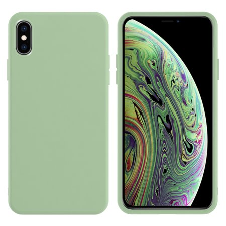 TORUBIA Protective Case for iPhone XS Max case Soft TPU Bumper Compatible with iPhone XS Max- Green - image 1 of 7