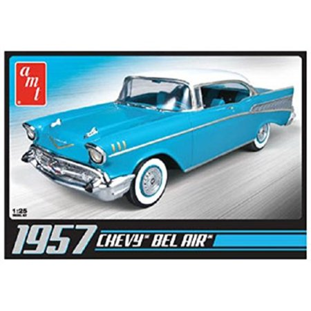 Round 2 AMT 1957 Chevy Bel Air Plastic Model Kit - Architecture Model Kits