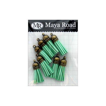 Maya Road Vintage Tassels Ant Gold Cap Sky -