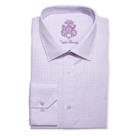 English Laundry Men's Dress Shirt Stretch Cotton (Variety) (16 32x33, Lite (Mens Dress Shirts Size 18 32 33)