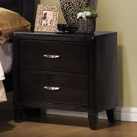 wholesale dealer 09233 5a2f0 Coaster Company Nacey Collection Nightstand, Dark Brown