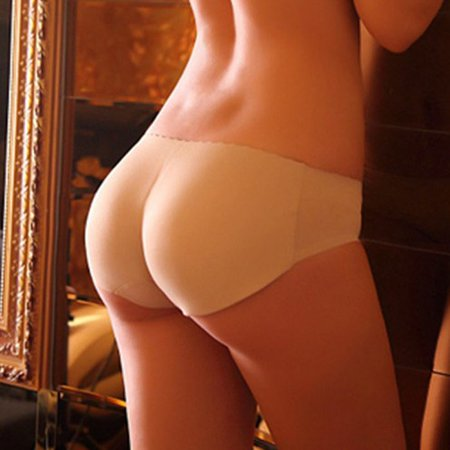 New Lady Padded Seamless Butt Hip Enhancer Shaper Panties Underwear