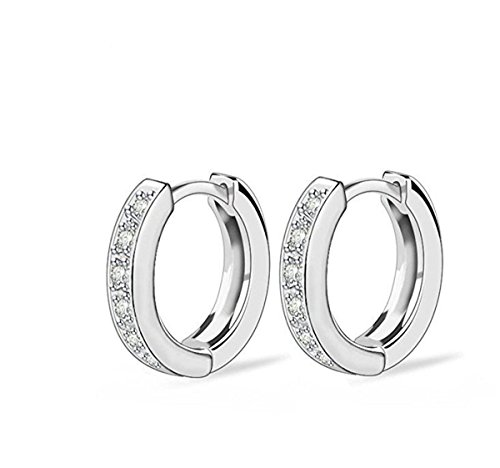 Jewels Fashion 12 Mm Small Surgical Stainless Steel Hoop Earring