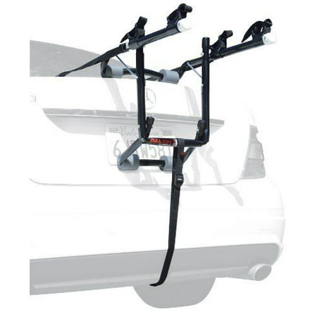 Car Trunk SUV 2-Bike Trunk Mount Rack Carrier Bicycle Sedans Hatchbacks Minivan Bike Trunk Mounted Rack