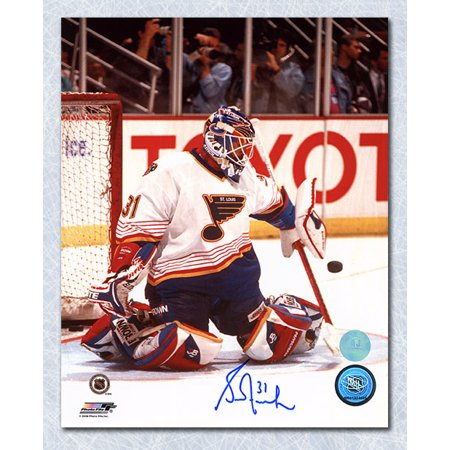 Grant Fuhr St. Louis Blues Autographed Goalie 8x10 Photo - image 1 de 1