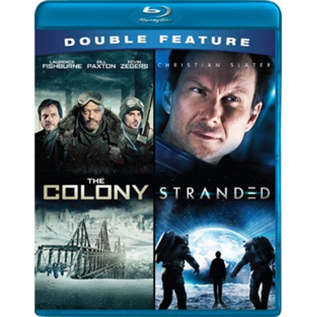 SCI FI CLASSICS DOUBLE FEATURE (BLU RAY) (STRANDED/COLONY) (WS/2.35:1) (Blu-ray) (Sci Fi Halloween)