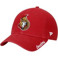 Ottawa Senators Fanatics Branded Women's Fundamental Adjustable Hat - Red - OSFA
