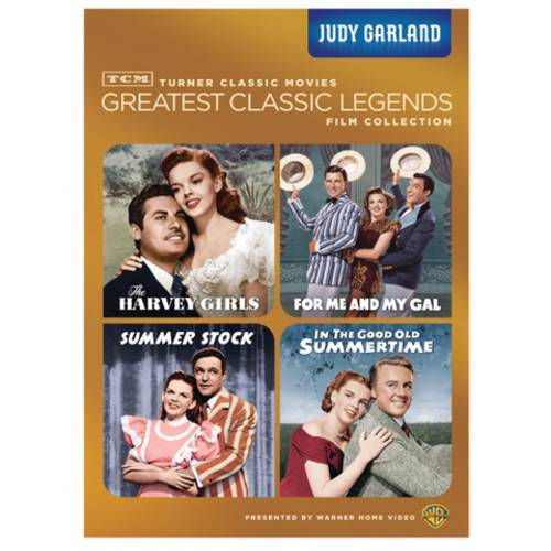 TCM Greatest Classic Legends: Judy Garland - The Harvey Girls / For Me And My Gal / Summer Stock / In The Good Old Summertime