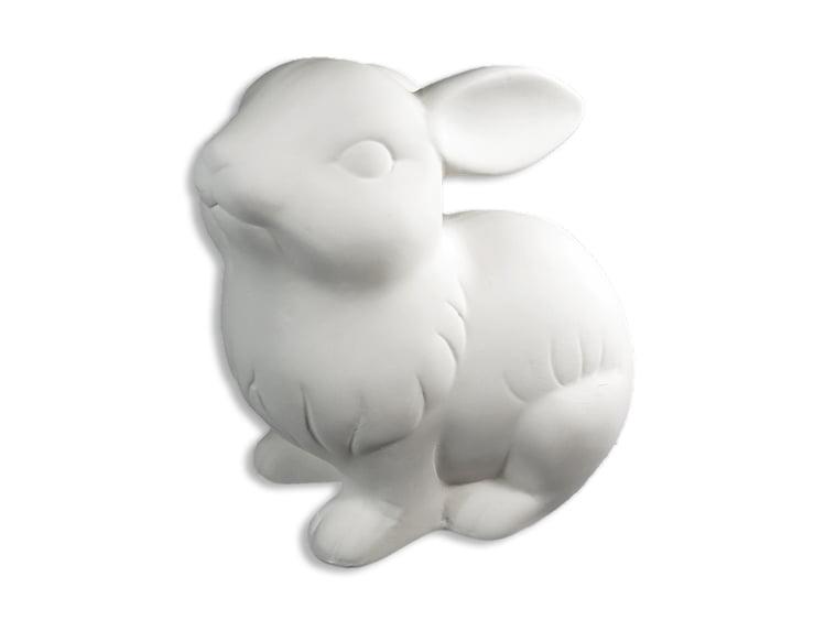 Dollhouse Miniature Unfinished Metal Large Wedding Rabbit Groom