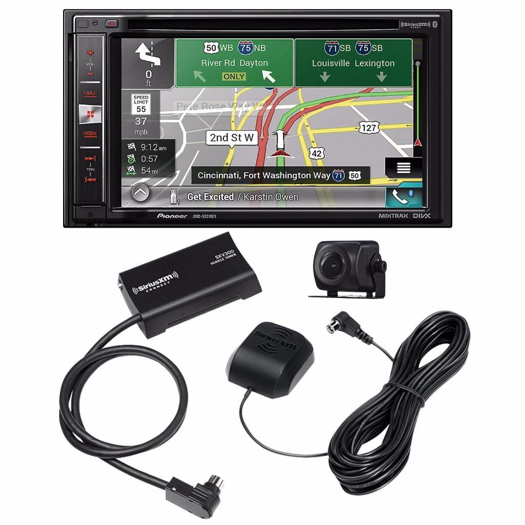 Pioneer AVIC-5201NEX DVD NAV Receiver +ND-BC8 RV Cam & SiriusXM Connect SXV300V1 by Pioneer %26 SiriusXM