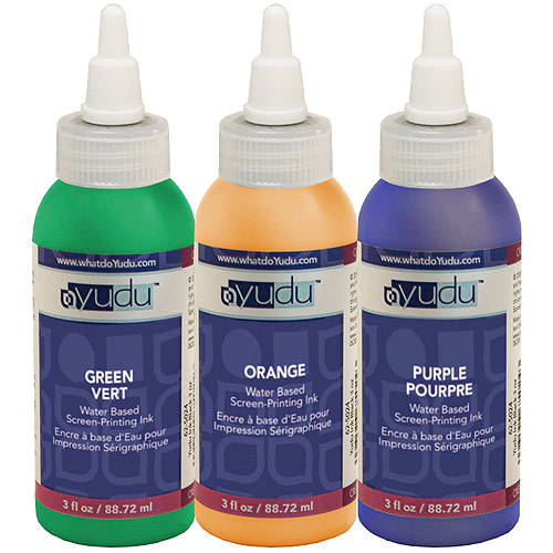 Yudu Ink, Secondary Color 3-Pack