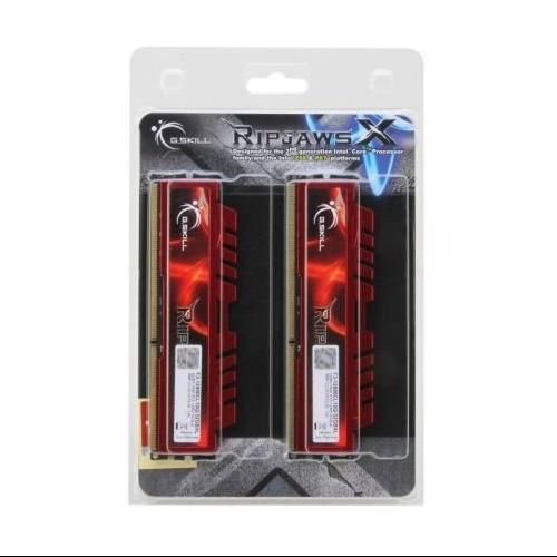 G.SKILL Ripjaws X Series 32GB (4 x 8GB) 240-Pin SDRAM DDR3 1600 (PC3 12800) Desktop Memory F3-12800CL10Q-32GBXL