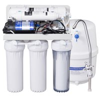 Deals on Costway 5-Stage Ultra Safe Reverse Osmosis Water Purifier