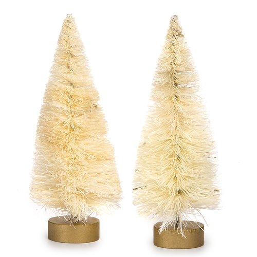 The Holiday Aisle Sisal Bottle Brush 0.3' Natural Artificial Christmas Tree