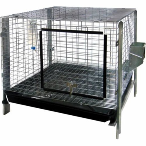 Advantek Small Animal Complete Rabbit Hutch Kit, 24 by 24-Inch by
