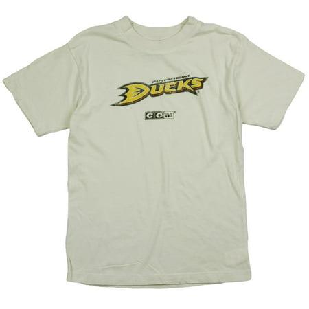 Reebok NHL Youth Boys Anaheim Ducks NHL Short Sleeve Vintage T-Shirt, -