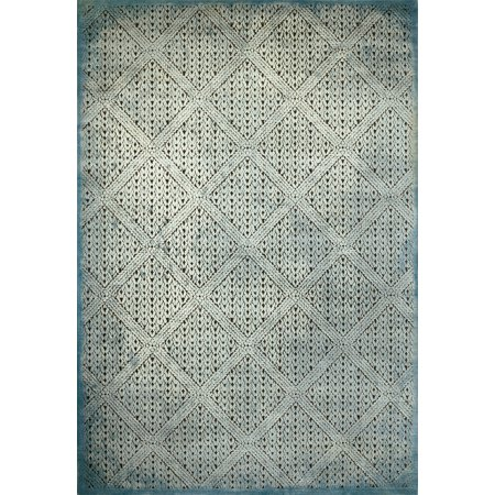 United Weavers Weathered Treasures Devonshire Aqua Accent Rug 1'10'' x 3' ()