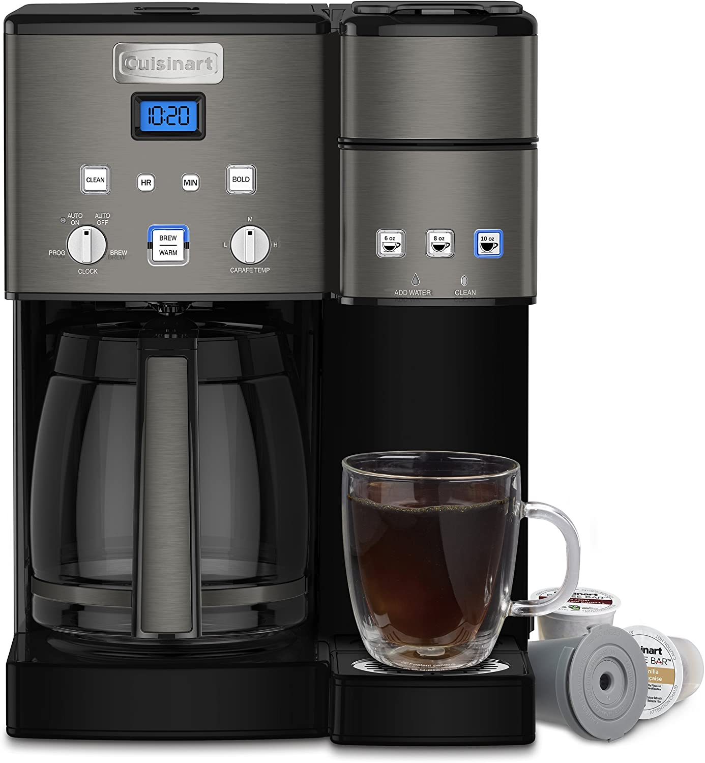 Cuisinart Combo 12 Cup and Single-Serve Brewer Coffee ...