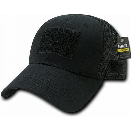 RapDom Low Crown Mesh Tactical Operator Cap [Black -