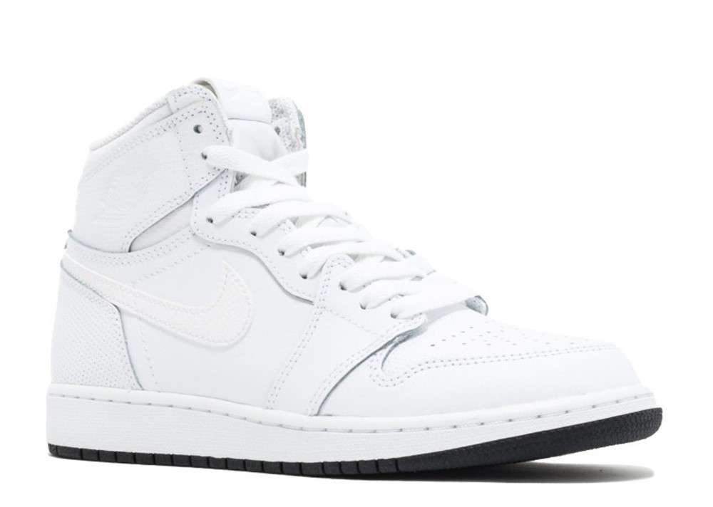 4524a4f9fa210d Air Jordan - Unisex - Air Jordan 1 Retro High Og Bg (Gs)  Perforated ...