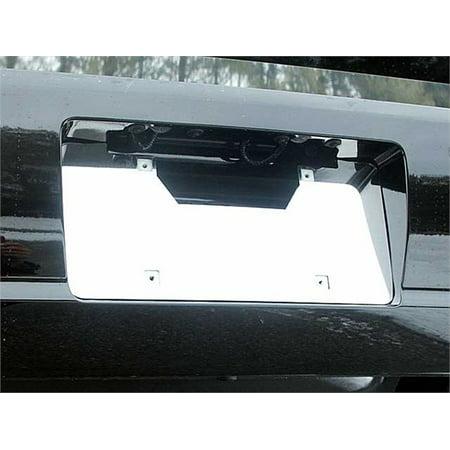Fits 2006-2011  BUICK LUCERNE 4-door -Stainless Steel License Plate Bezel - License Plate Bezel