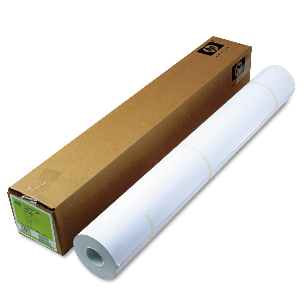 "HP Designjet Inkjet Large Format Paper, 4.5 mil, 36"" x 300 ft, White -HEWC6980A"